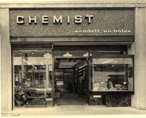 wendell Nicholas Chemist Whitewalls