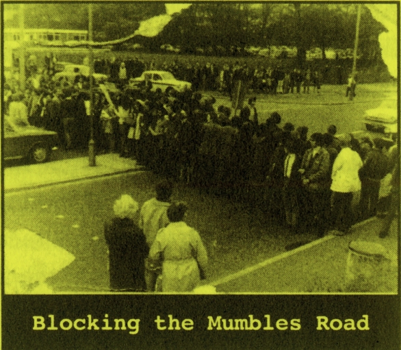 Blocking-Mumbles-Road