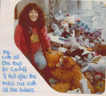 cardiff womens aid 1979 bikers toy run